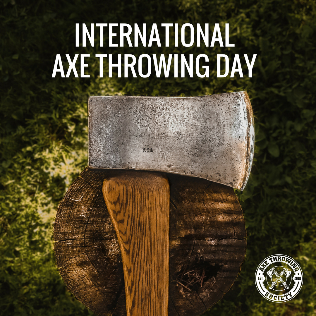 International Axe Throwing Day - Axe Throwing Society - Indoor Axe Throwing - South Florida - Fort Lauderdale - Pompano - Miami - Wynwood