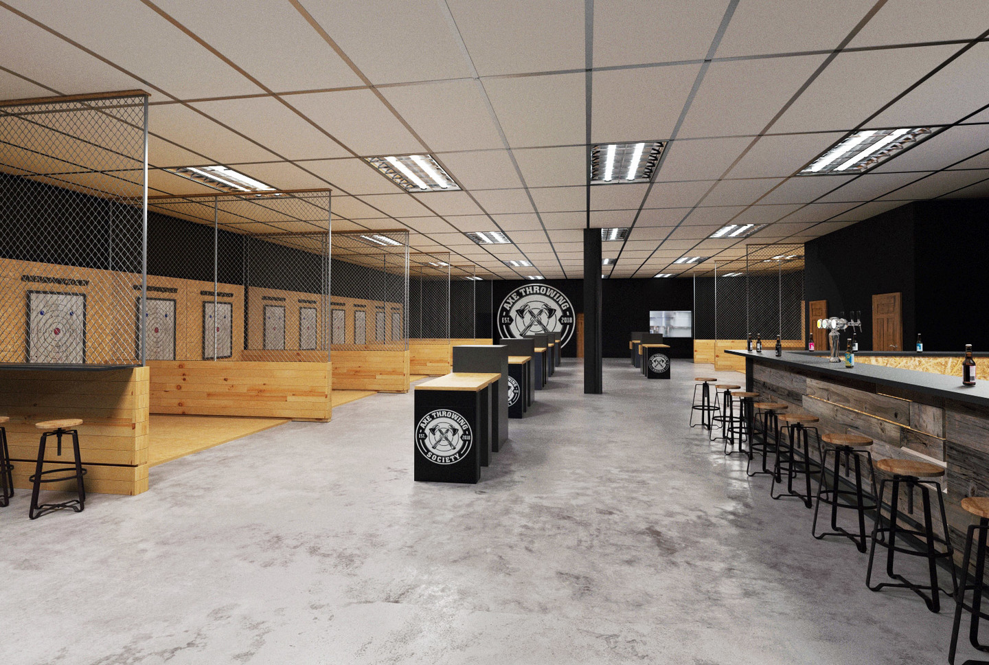 Axe Throwing Society - Indoor Axe Throwing - South Florida - Fort Lauderdale - Pompano - Miami - Wynwood